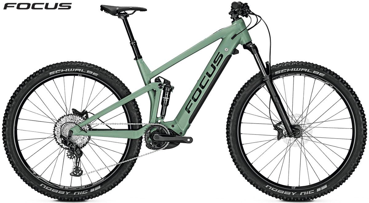 Una bici Focus Thron2 6.8 2020