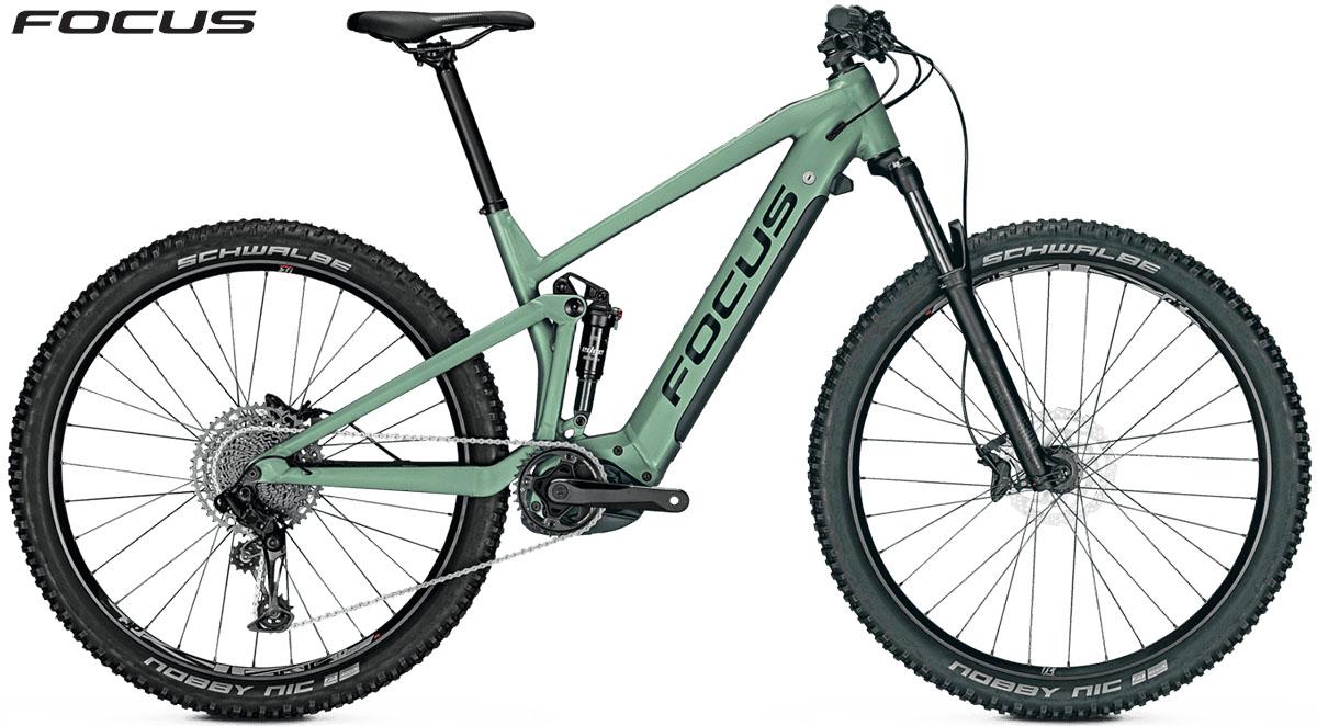 Una bici Focus Thron2 6.7 2020