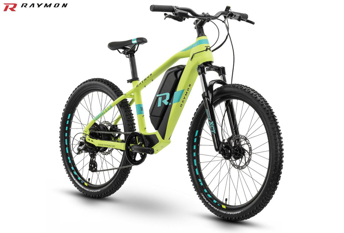 Una bici elettrica da bambino R Raymon FourRay E 1.0 gamma 2020