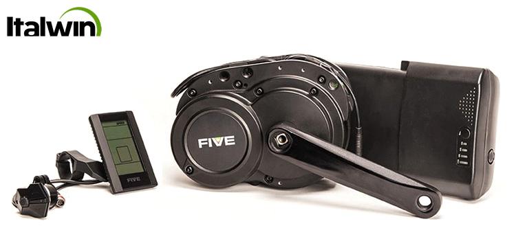 Kit motore elettrico centrale FIVE F90 da 250 W