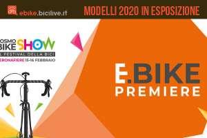 eBike Première 2020: bici elettriche ed e-MTB in esposizione