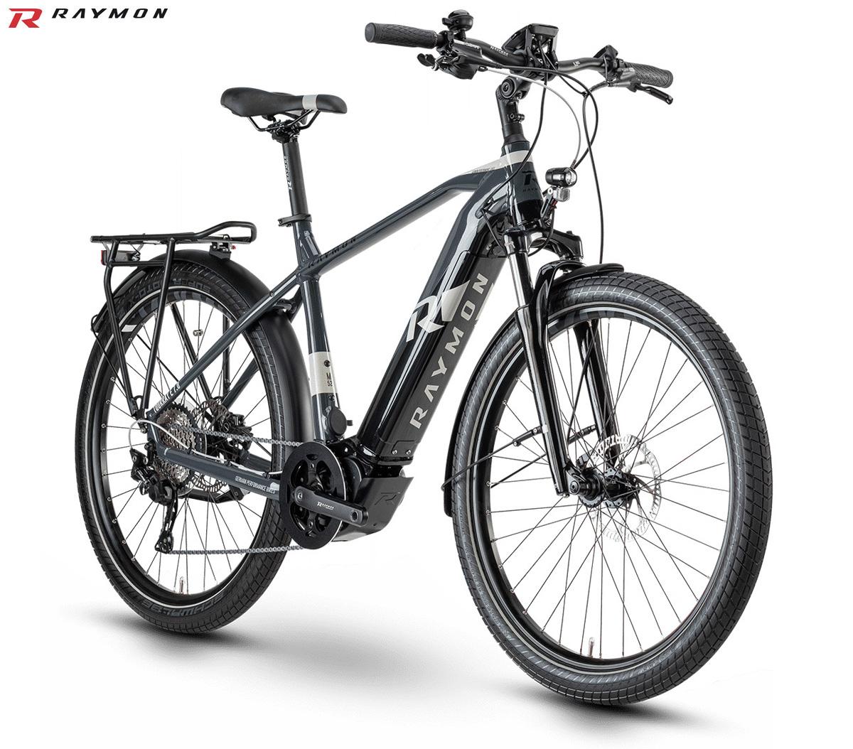 Una ebike da trekking R Raymon TourRay E 7.0 Gent 2020