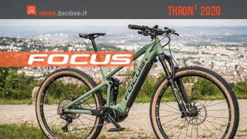 Focus Thron 2 2020: e-MTB full suspended da trail