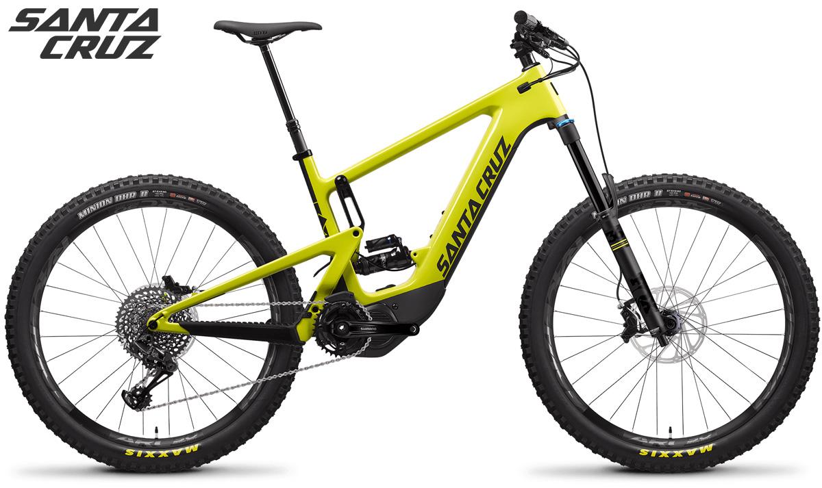 Una mtb a pedalata assistita Santa Cruz Heckler Carbon CC kit S
