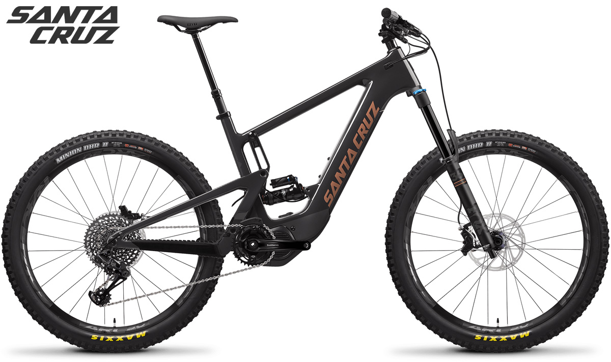 Mountain bike elettrica Santa Cruz Heckler Carbon CC con kit X01 RSV