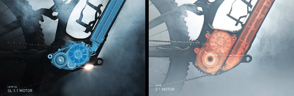 foto comparativa motori turbo levo sl