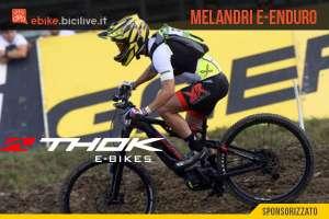 Thok E-bikes porta Marco Melandri all'e-Enduro 2020