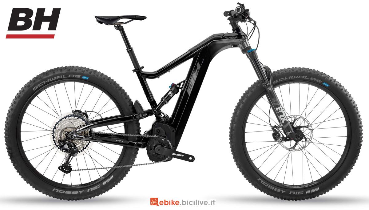 Una ebike full suspended BH AtomX LYNX 5.5 PRO-S 2020
