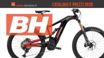 BH Easy Motion bici elettriche 2020: catalogo listino prezzi