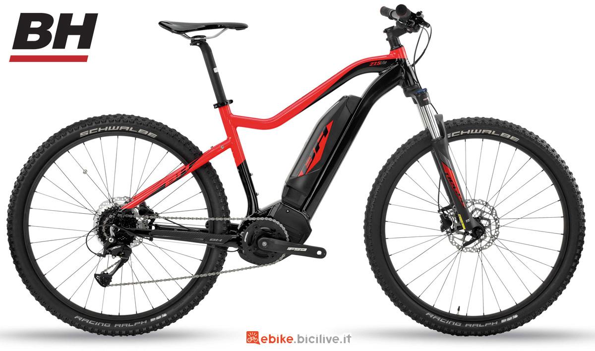 Una eMTB front a pedalata assistita BH REBEL 27.5 LITE