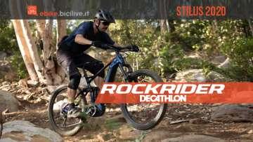 Rockrider Stilus E-All Mountain 27.5+: una eMTB da Decathlon