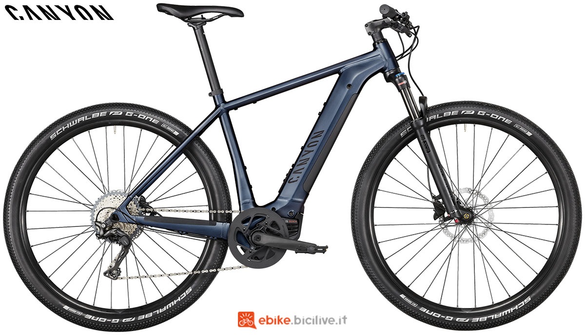 Una ebike Pathlite:ON 5.0 2020