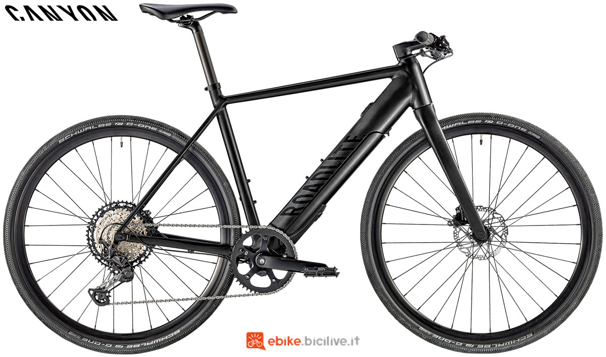 Una ebike Roadlite:ON AL 8.0 2020