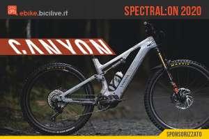 La nuova Canyon Spectral:ON 2020: eMTB tutta integrazione e divertimento