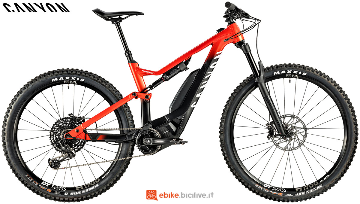 Una ebike Spectral:ON 8.0 2020