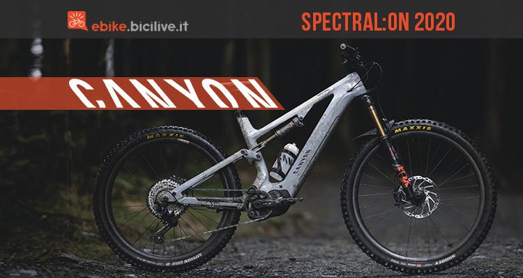 Canyon Spectral:ON 2020: integrazione e divertimento