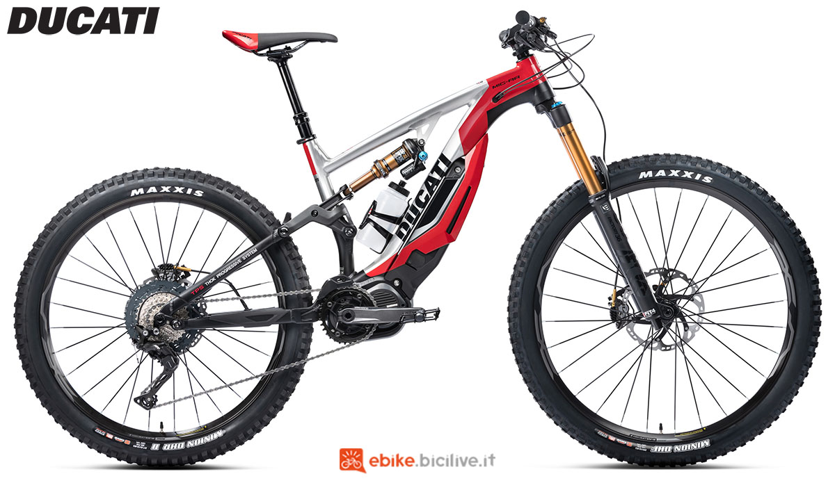 Una ebike Ducati powered by Thok MIG-RR 2020