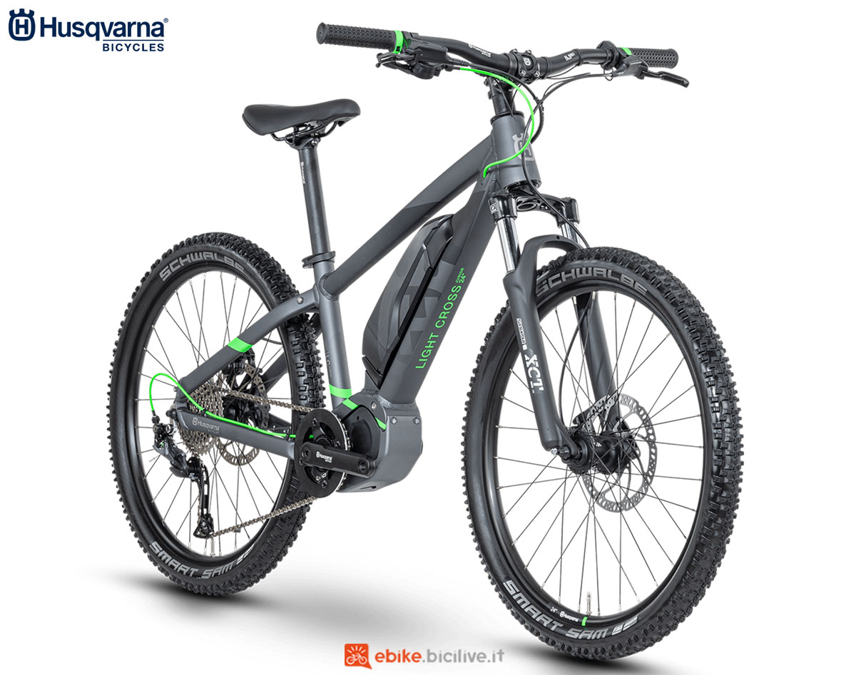 Una bici Husqvarna Light Cross LC JR 24 2020