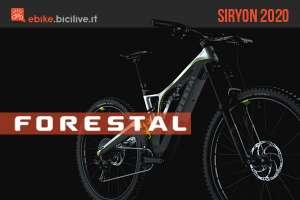 Forestal Siryon 2020: una eMTB da 17 kg con soluzioni all'avanguardia
