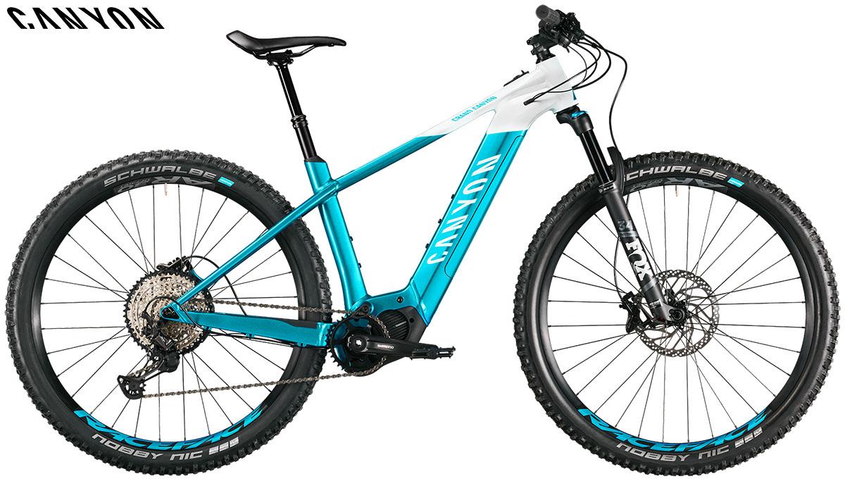 Una bici GRAND CANYON ON AL 9.0 2020