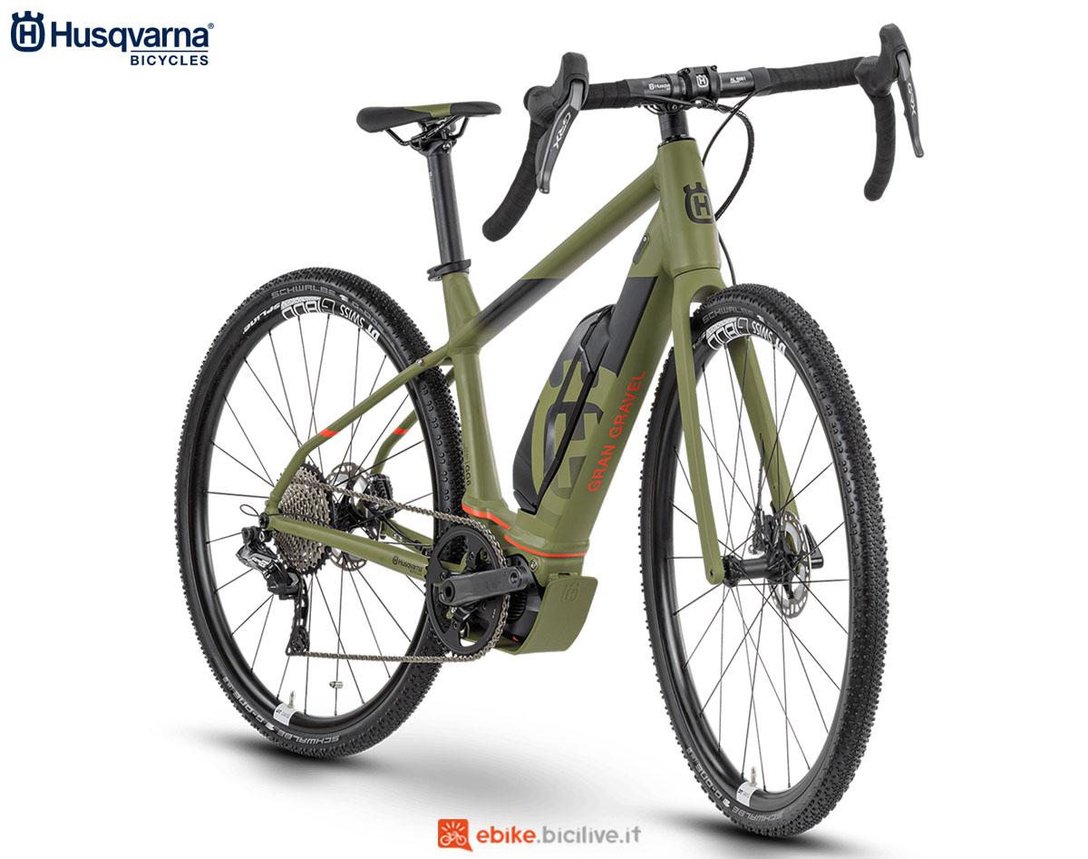 Una bici Husqvarna Gran Gravel GG6 2020