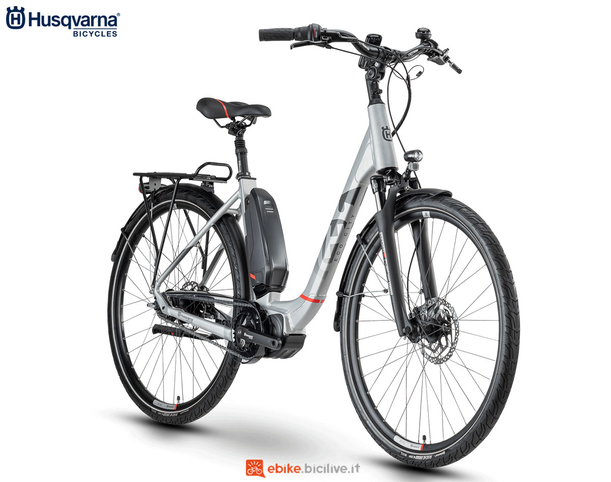 Una bici Husqvarna Gran City EC2 CB 2020