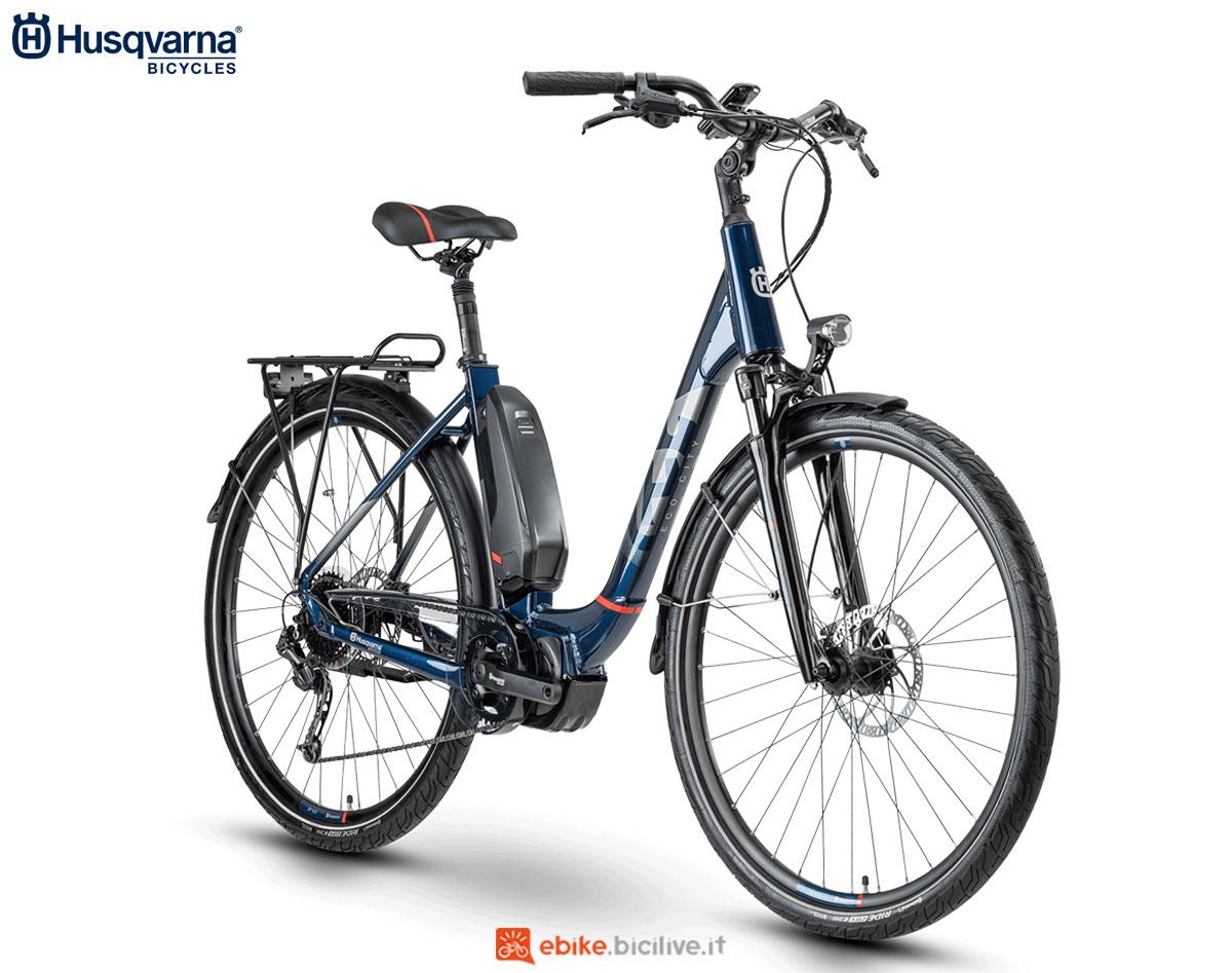 Una bici Husqvarna Gran City EC3 2020