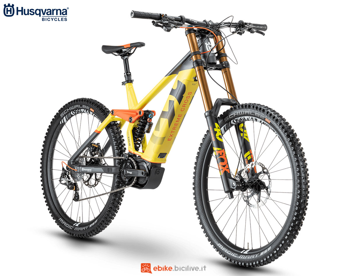 Una bici Husqvarna Extreme Cross EXC 10 2020