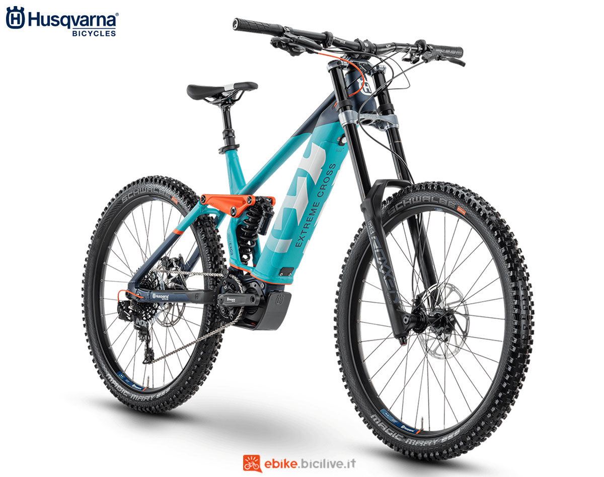 Una bici Husqvarna Extreme Cross EXC 9 2020