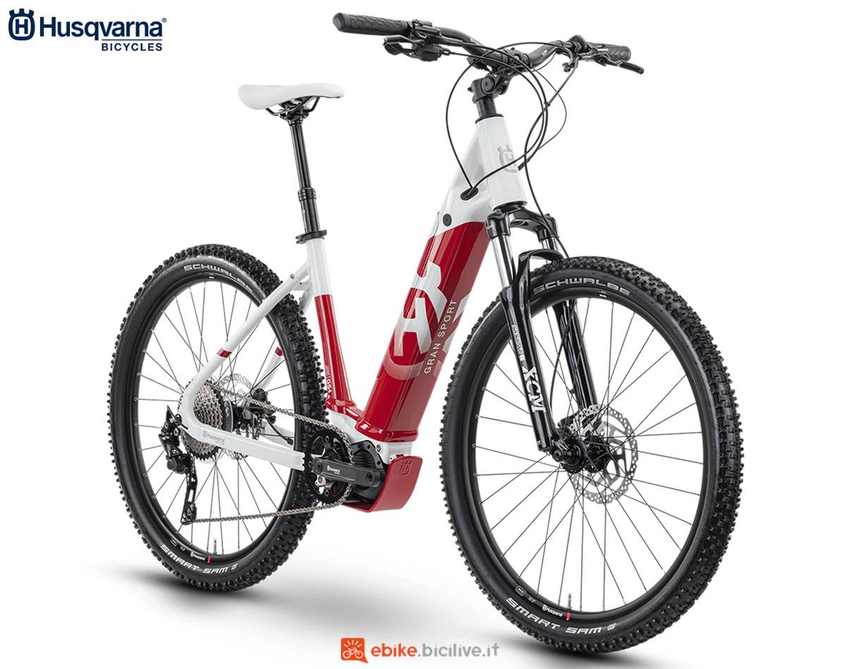 Una bici Husqvarna Gran Sport GS4 2020