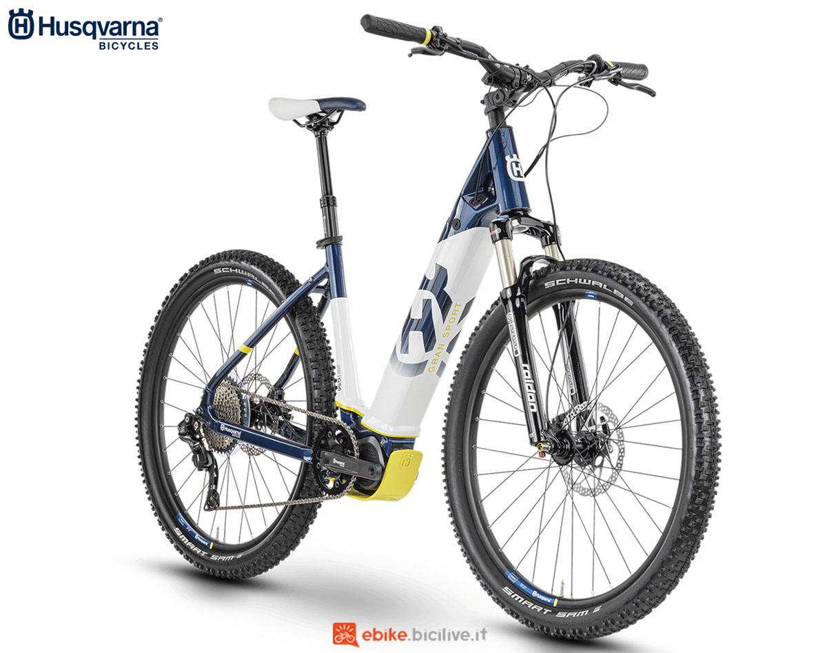 Una bici Husqvarna Gran Sport GS6 2020