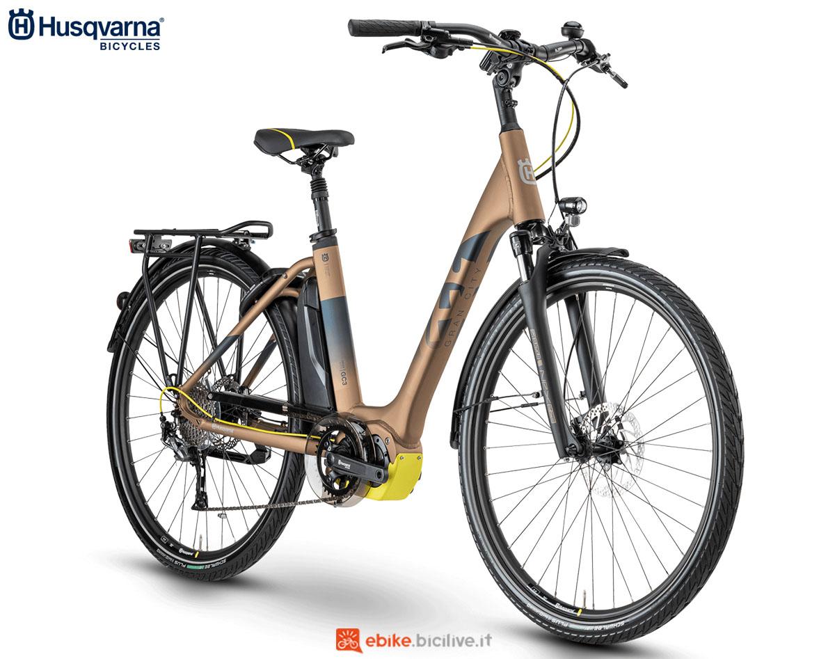 Una bici Husqvarna Gran City GC3 2020