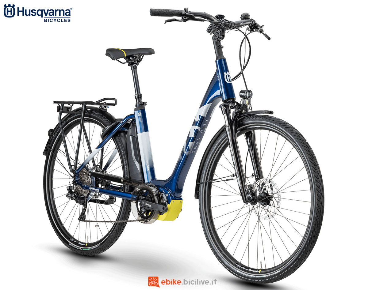 Una bici Husqvarna Gran City GC5 2020