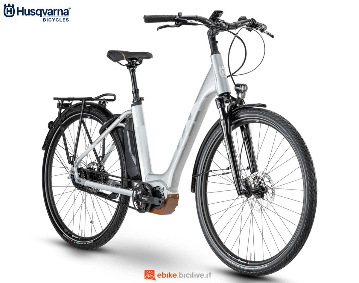 Una bici Husqvarna Gran City GC6 2020