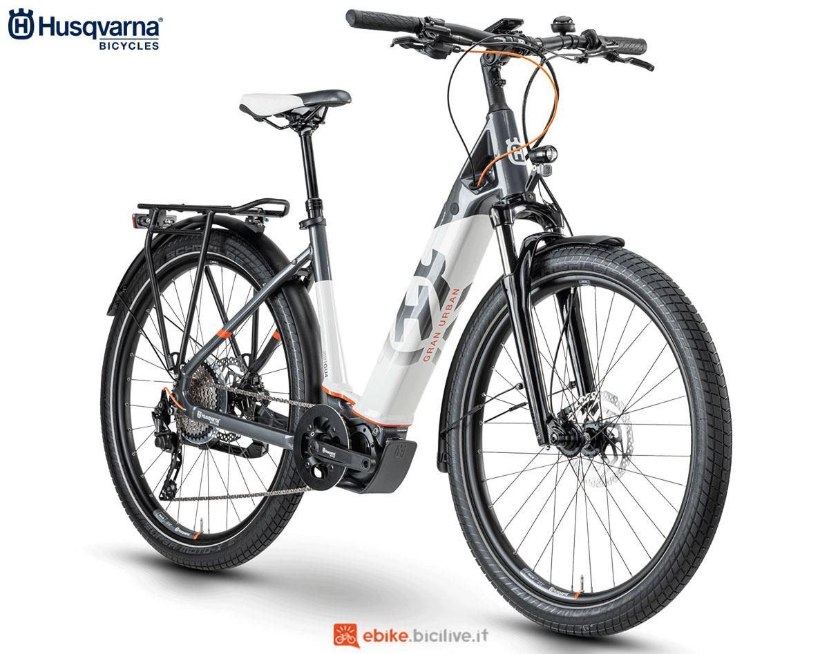 Una bici Husqvarna Gran Urban GU4 2020