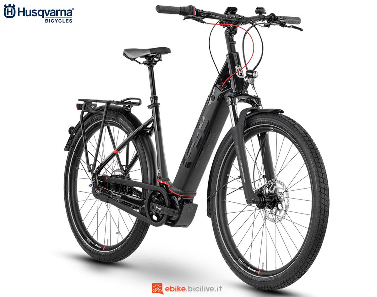 Una bici Husqvarna Gran Urban GU4 CB 2020