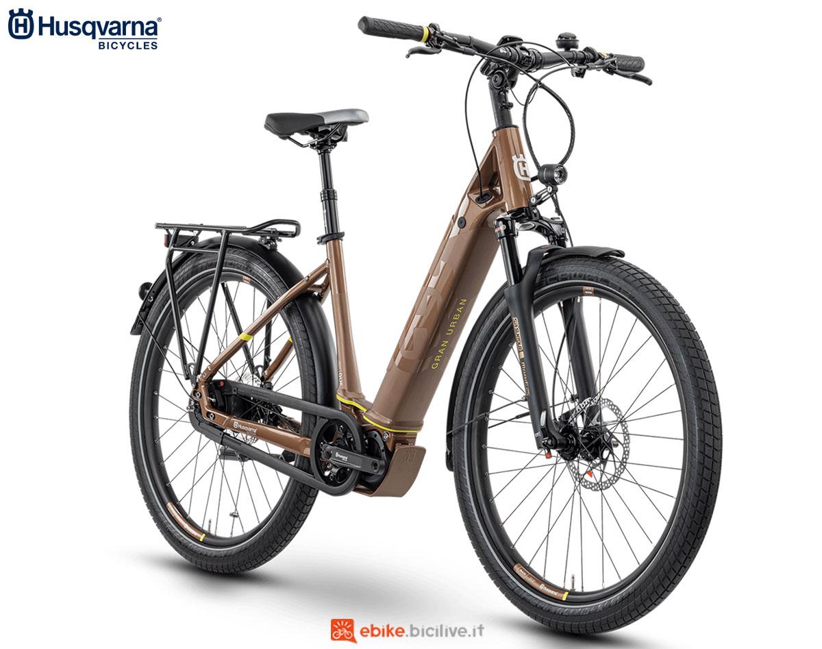 Una bici Husqvarna Gran Urban GU6 FW 2020