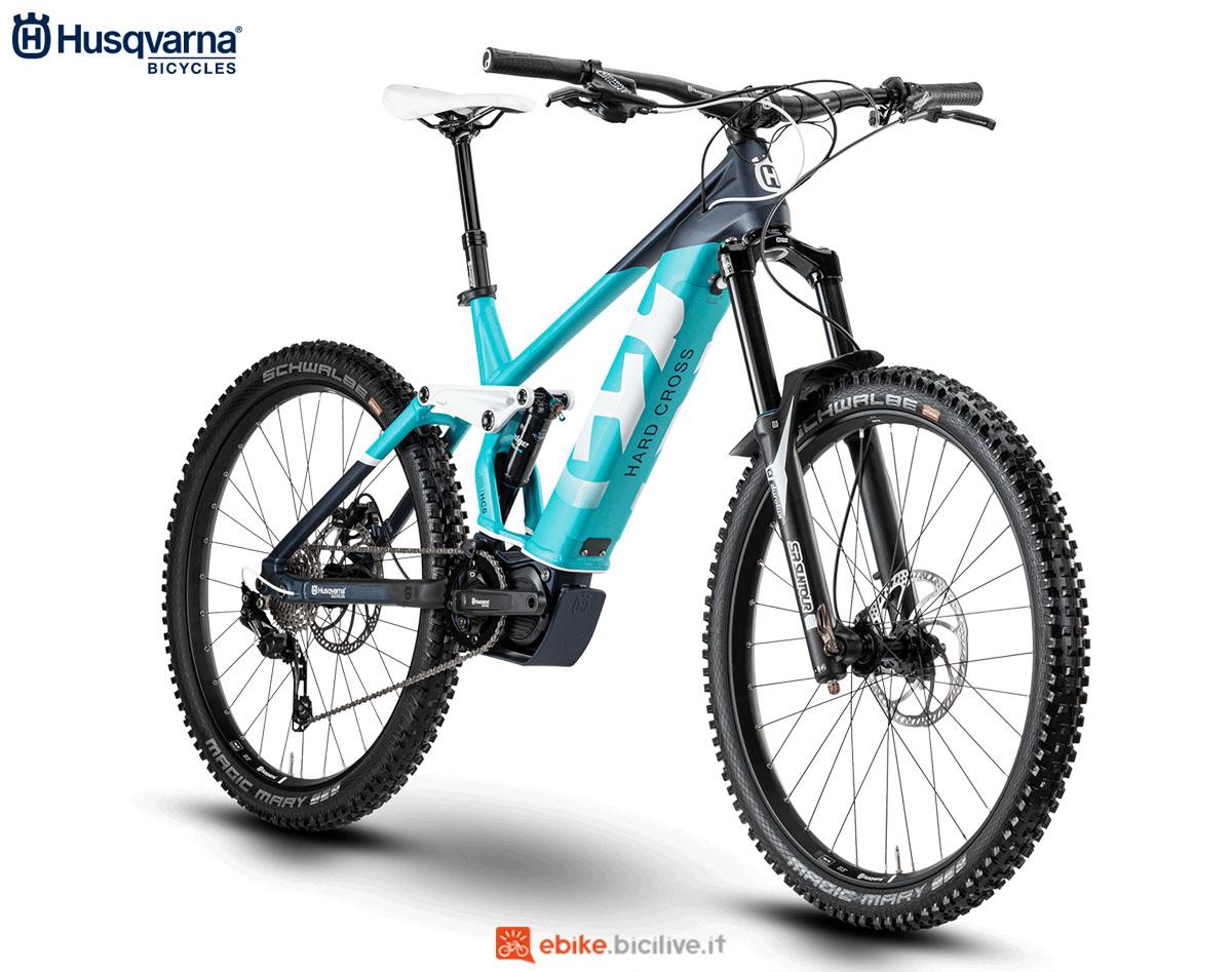 Una bici Husqvarna Hard Cross HC6 2020