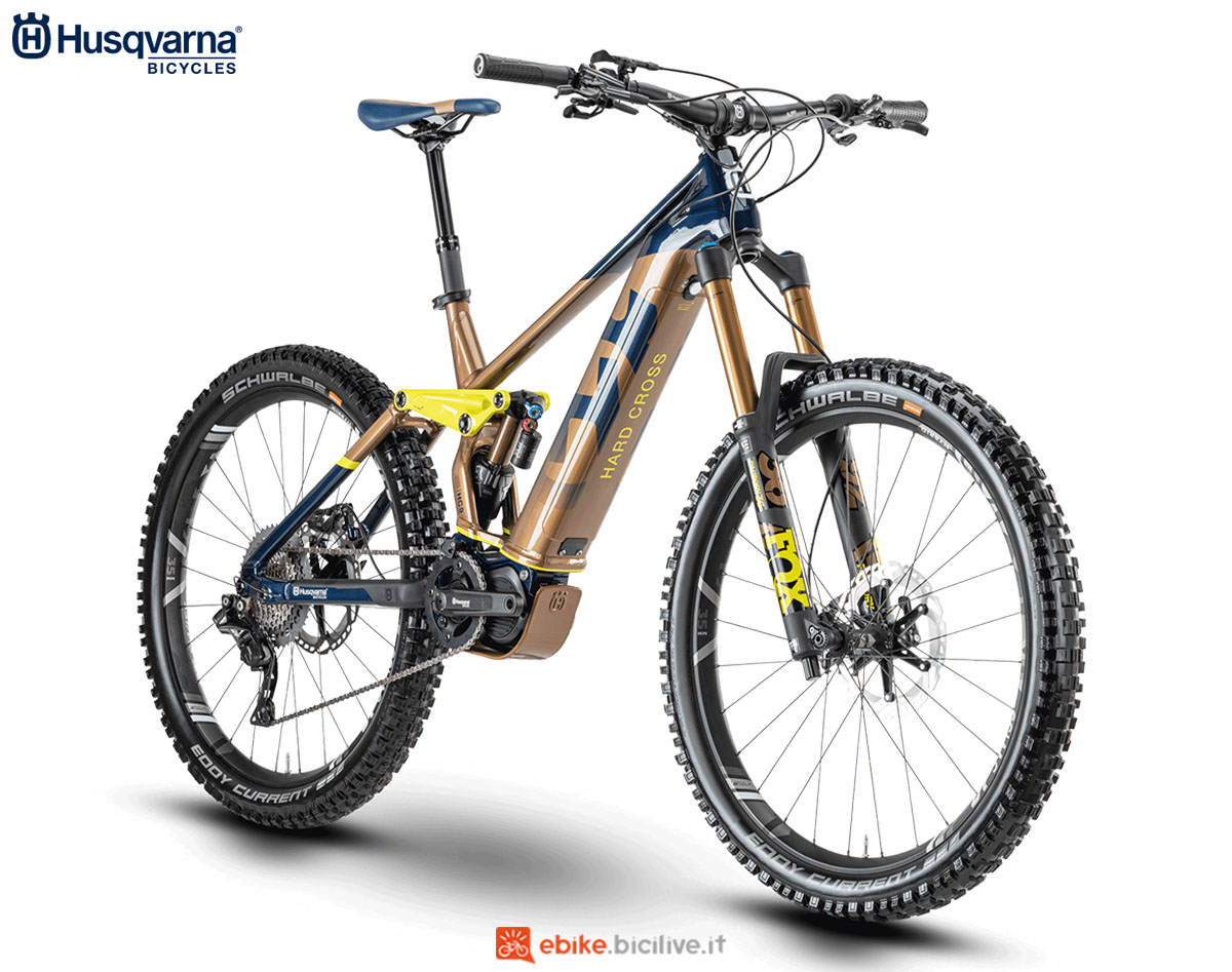 Una bici Husqvarna Hard Cross HC9 2020