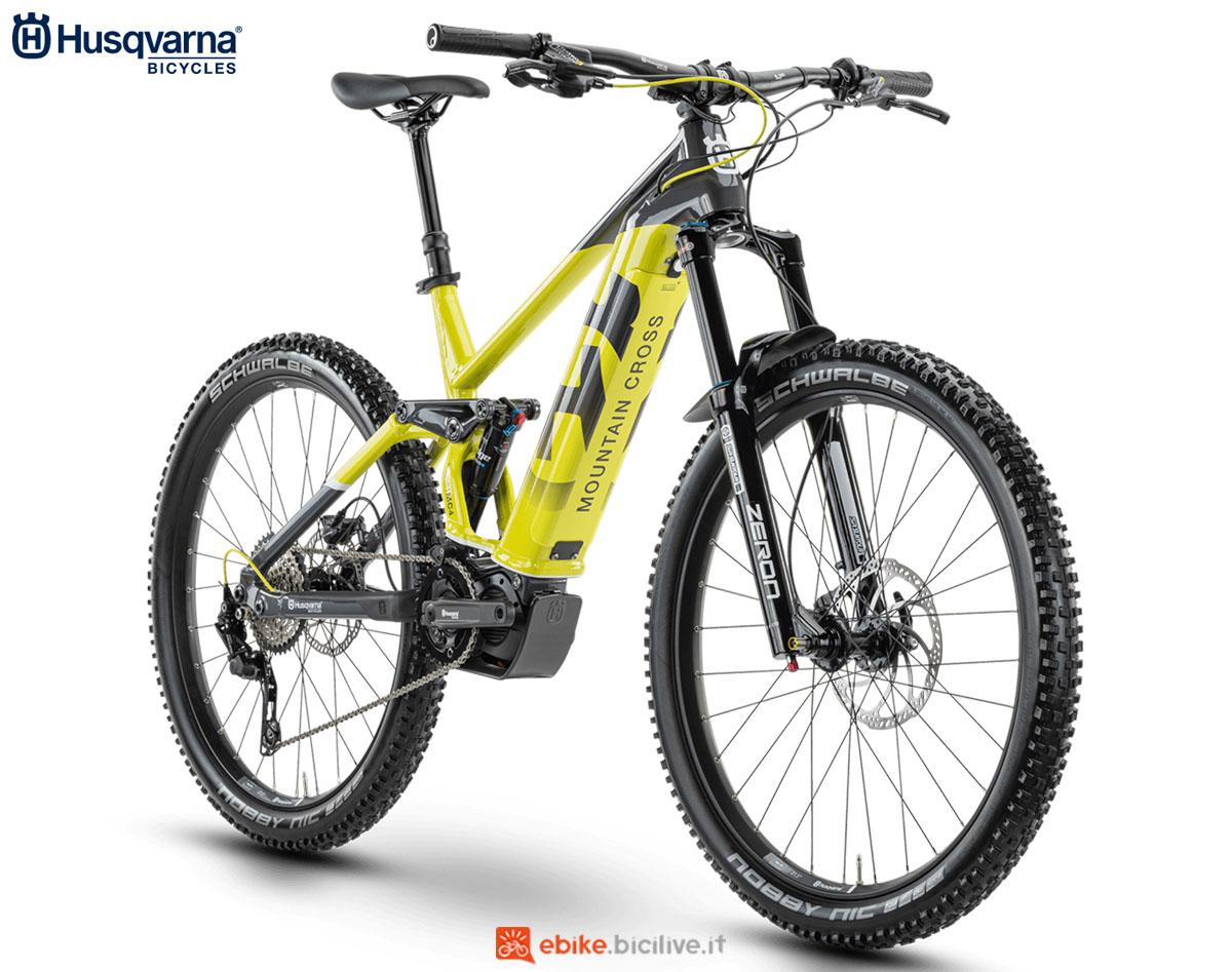Una bici Husqvarna Mountain Cross MC4 2020