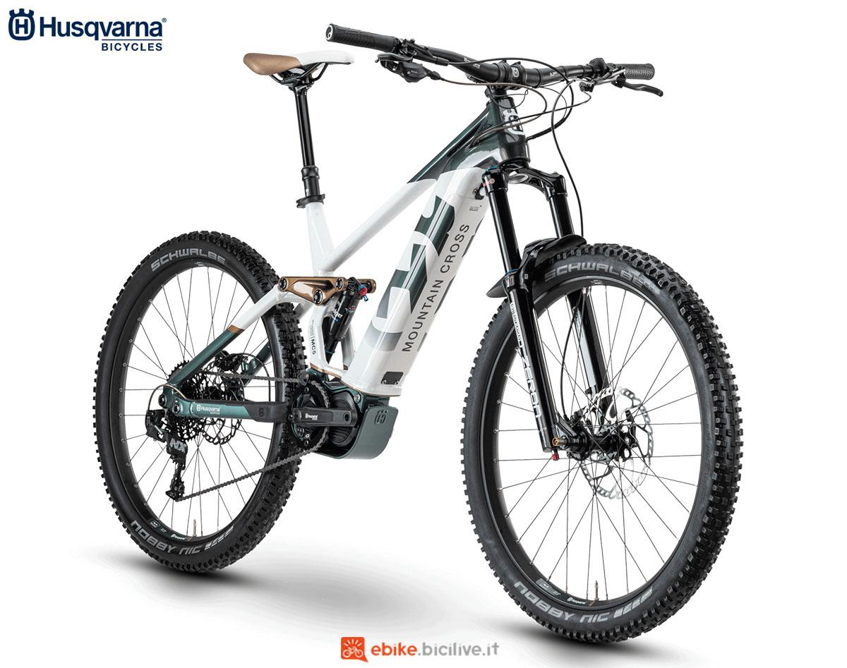 Una bici Husqvarna Mountain Cross MC5 2020