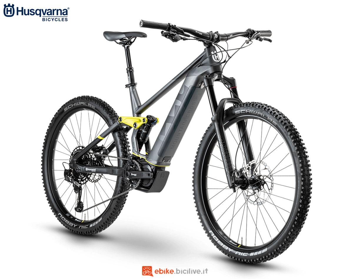 Una bici Husqvarna Mountain Cross MC6 2020