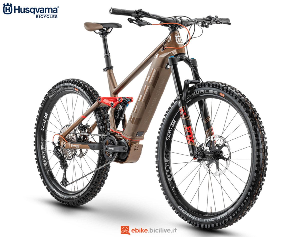 Una bici Husqvarna Mountain Cross MC7 2020