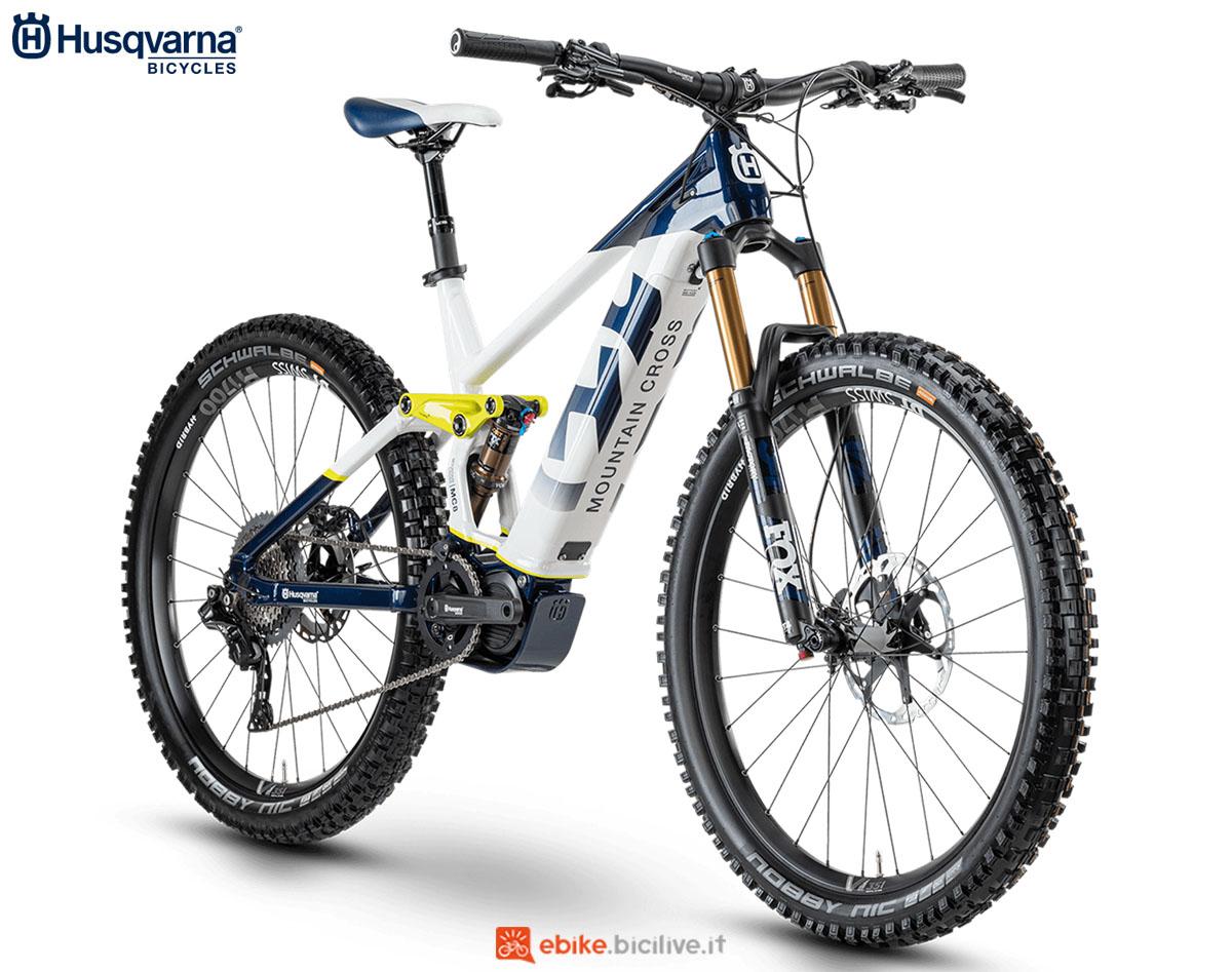 Una bici Husqvarna Mountain Cross MC8 2020
