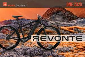 Revonte One: l'e-bike futuristica senza cambio