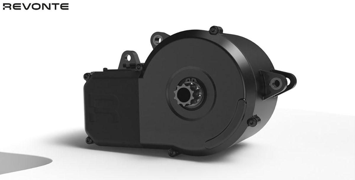 Il motore Drive Unit da 250W montato sulla Revonte One 2020