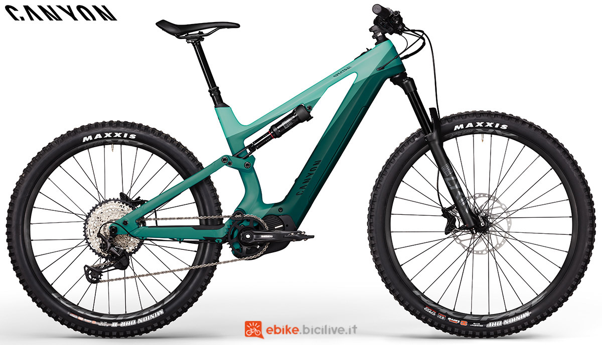 Una ebike Canyon Spectral:ON CF 7.0 2020