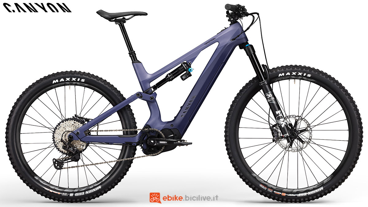 Una ebike Canyon Spectral:ON CF 8.0 2020