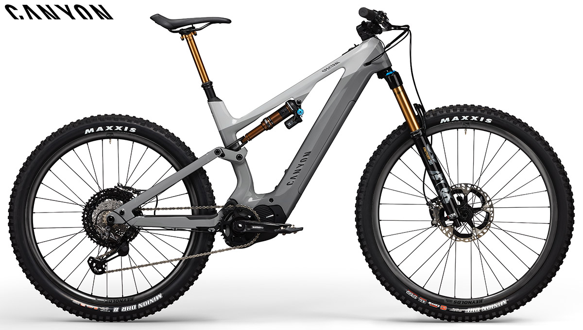 Una ebike Canyon Spectral:ON CF 9.0 2020
