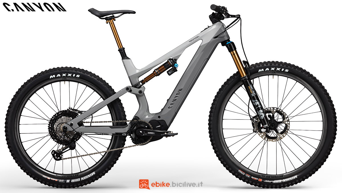 Una bici Canyon Spectral:ON CF 9.0 2020